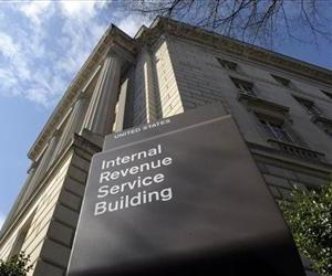 This March 22, 2013 file photo shows the exterior of the Internal Revenue Service building.