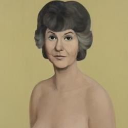 Here's a cropped version of the Bea Arthur painting.