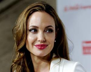 This file photo shows Angelina Jolie at the Women in the World Summit in New York.