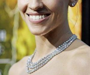 Hillary Swank sports a diamond necklace at a film premiere in this file photo.