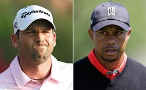The Garcia-Woods spat began at the Players Championship golf tournament earlier this month.