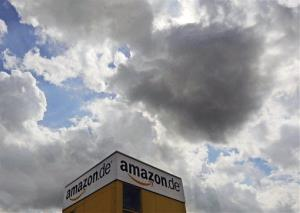 An Amazon building in Germany