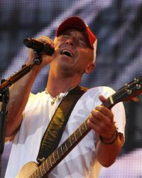 Kenny Chesney performs during the Farm Aid 2012 concert at Hersheypark Stadium in Hershey, Pa., Saturday, Sept. 22, 2012.