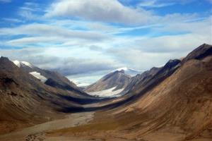Scientists have made some amazing finds as ice retreats on Ellesmere Island.