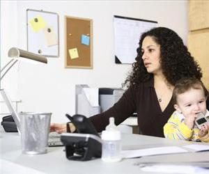 Working moms are getting a lot more common.