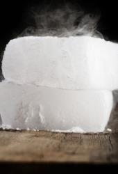 File photo of dry ice.