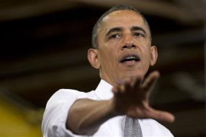 President Obama speaks in Baltimore on May 17.