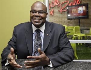McDonald's CEO Don Thompson in 2010.