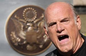 Former Minnesota Governor Jesse Ventura in a file photo.