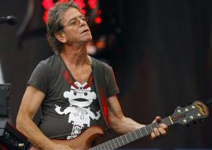 Lou Reed performs at Lollapalooza in 2009.