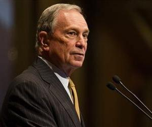 Mayor Michael Bloomberg on Thursday, May 30, 2013, in New York.  Two threatening letters containing traces of the deadly poison ricin were sent to Bloomberg and his gun-control group.