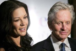 Michael Douglas and his wife Catherine Zeta-Jones.