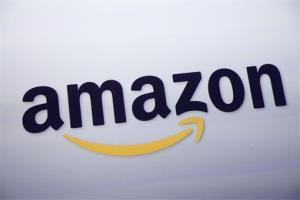 The logo for Amazon.com.