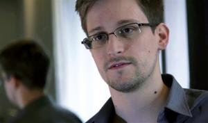 This photo provided by the Guardian in London shows Edward Snowden.