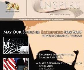 A screenshot from al-Qaeda's Inspire magazine.