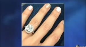 The ring is shown in an ABC News report.