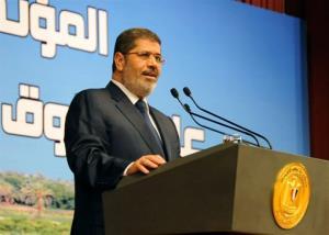 Egypt's President Mohammed Morsi.