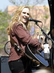 Melissa Etheridge performs at the Dow Live Earth Run For Water event in Los Angeles, on Sunday, April 18, 2010.