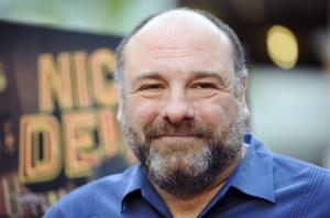 James Gandolfini arrives at the LA premiere of Nicky Deuce at the ArcLight Hollywood on Monday, May 20, 2013 in Los Angeles.