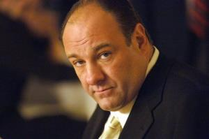 This undated publicity photo, released by HBO, shows actor James Gandolfini in his role as Tony Soprano.
