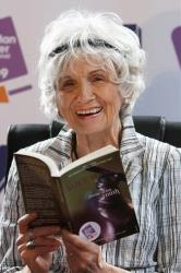 A 2009 photo of Canadian author Alice Munro.