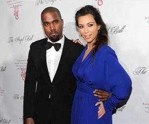 Singer Kanye West and girlfriend Kim Kardashian attend Gabrielle's Angel Foundation 2012 Angel Ball cancer research benefit at Cipriani Wall Street in New York.