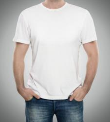 Plain white t-shirts make you 12% hotter.