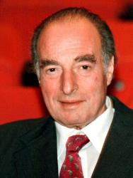This is a  Nov. 30, 1998 file photo of financier Marc Rich shown in  in Zug, central Switzerland.