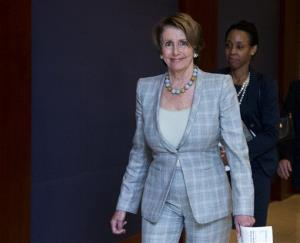 Nancy Pelosi on Capitol Hill in this file photo.