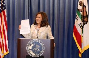 California Attorney General Kamala Harris discusses the Supreme Court ruling on Proposition 8.