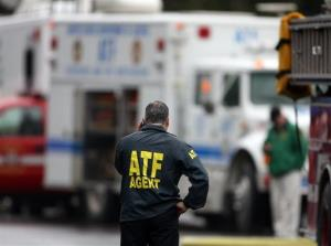 File photo of an ATF agent.