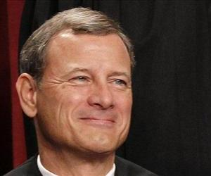 Chief Justice John G. Roberts. At 58, he seemingly has a long time to shape his court.