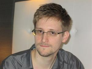 This image made available by The Guardian Newspaper in London shows NSA Wistleblower Edward Snowden.