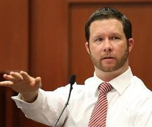 John Good, a neighbor who witnessed part of the confrontation between George Zimmerman and Trayvon Martin testifies during the 15th day of Zimmerman's trial in Seminole circuit court.