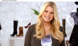 Jessica Simpson stars in Macy's Backstage Pass campaign.