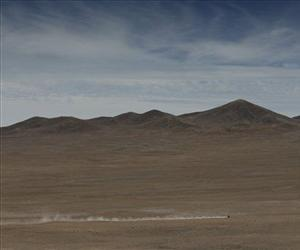 The Atacama desert.