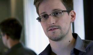 This photo provided by The Guardian newspaper in London shows Edward Snowden.