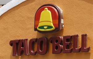 A Taco Bell restaurant.
