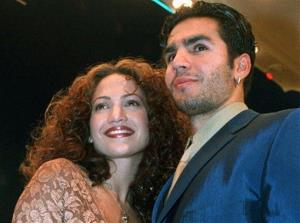 Jennifer Lopez made it on the list twice: for a 218-day marriage to Cris Judd, and a 10-month marriage to Ojani Noa (pictured).