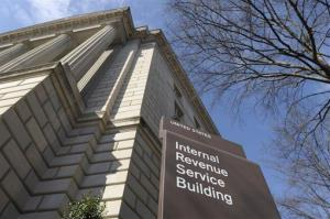 This March 22, 2013 file photo shows the exterior of the Internal Revenue Service building in Washington.