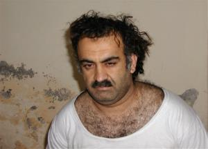 This March 1, 2003, file photo obtained by the Associated Press shows Khalid Sheikh Mohammed.