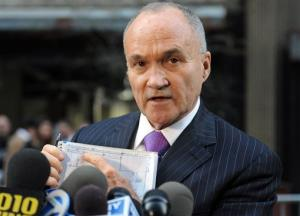 This April 26, 2013 file photo shows New York City Police Commissioner Ray Kelly, who could be a strong candidate to replace Janet Napolitano.
