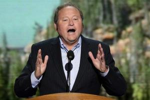 Then-Montana Gov. Brian Schweitzer addresses the Democratic National Convention in February 2013.