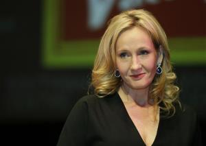 In this Sept. 27, 2012 file photo, British author J.K. Rowling poses for photographers during a photo call to unveil her new book, entitled: 'The Casual Vacancy', at the Southbank Centre in London.