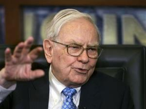 Berkshire Hathaway CEO and Chairman Warren Buffett.