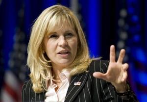 Liz Cheney in a 2010 file photo.