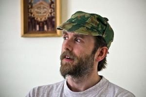 Varg Vikernes is seen after his release from prison in 2009.
