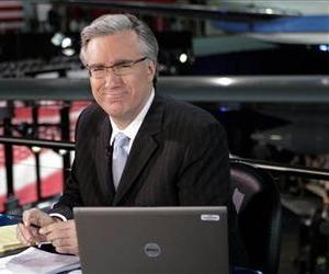 In this May 3, 2012 file photo, Keith Olbermann poses at the Ronald Reagan Library in Simi Valley, Calif.