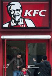 You won't be seeing Colonel Sanders at the new KFC...