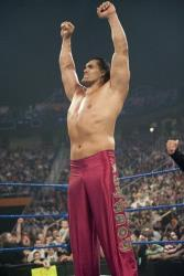 This 2009  image released by World Wrestling Entertainment shows World Wrestling Entertainment star The Great Khali.